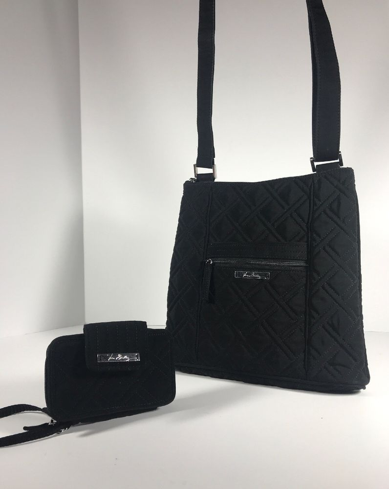 8ea192b40ed5 Vera Bradley Crossbody Hipster And Wallet Set Classic Black Microfiber  Handbag  fashion  clothing  shoes  accessories  womensbagshandbags (ebay  link)