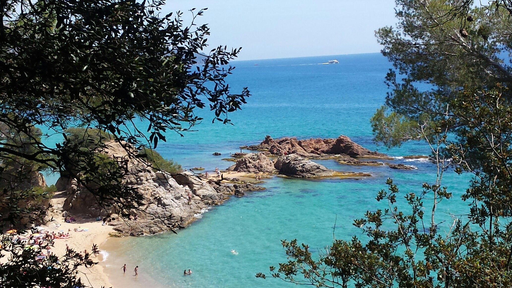 Cala Treumal Blanes Costa Brava Outdoor Water