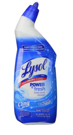 Household Essentials Toilet Bowl Cleaner Toilet Bowl Lysol