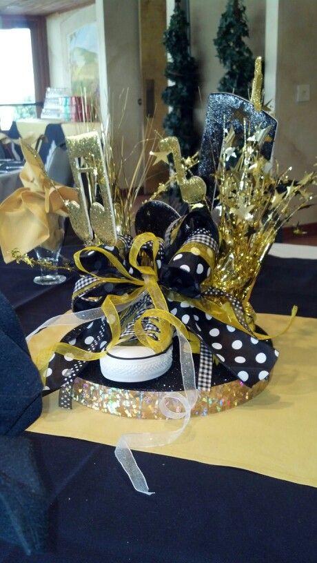 Dance team table centerpiece   Misc...   Banquet table ...