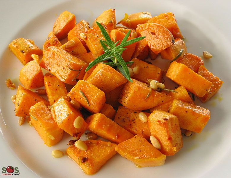 Baked Sweet Potatoes With Rosemary Recipe In 2019 Sweet Potato Sweet Potato Recipes Potatoes