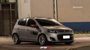 Fiat Palio Sporting Rebaixado Com Rodas Aro 17 Palio Sporting