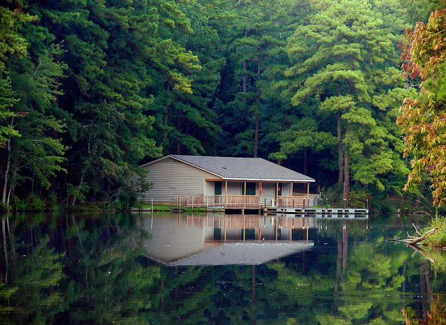peaceful reflections by bdaryle (off), via Flickr