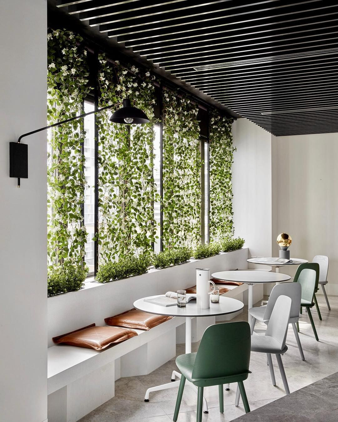 Green Cafe Design: // GREEN DAY ... NOT A Chic Cafe, But Our Fave Workplace