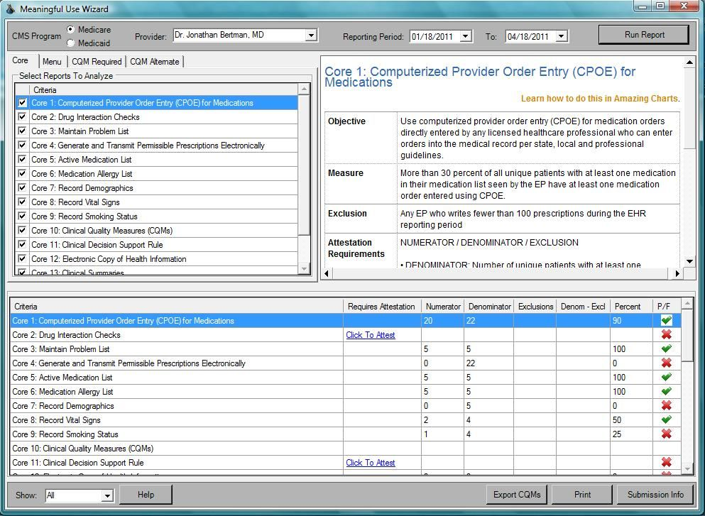 This screenshot shows how easy electronic prescribing can be this