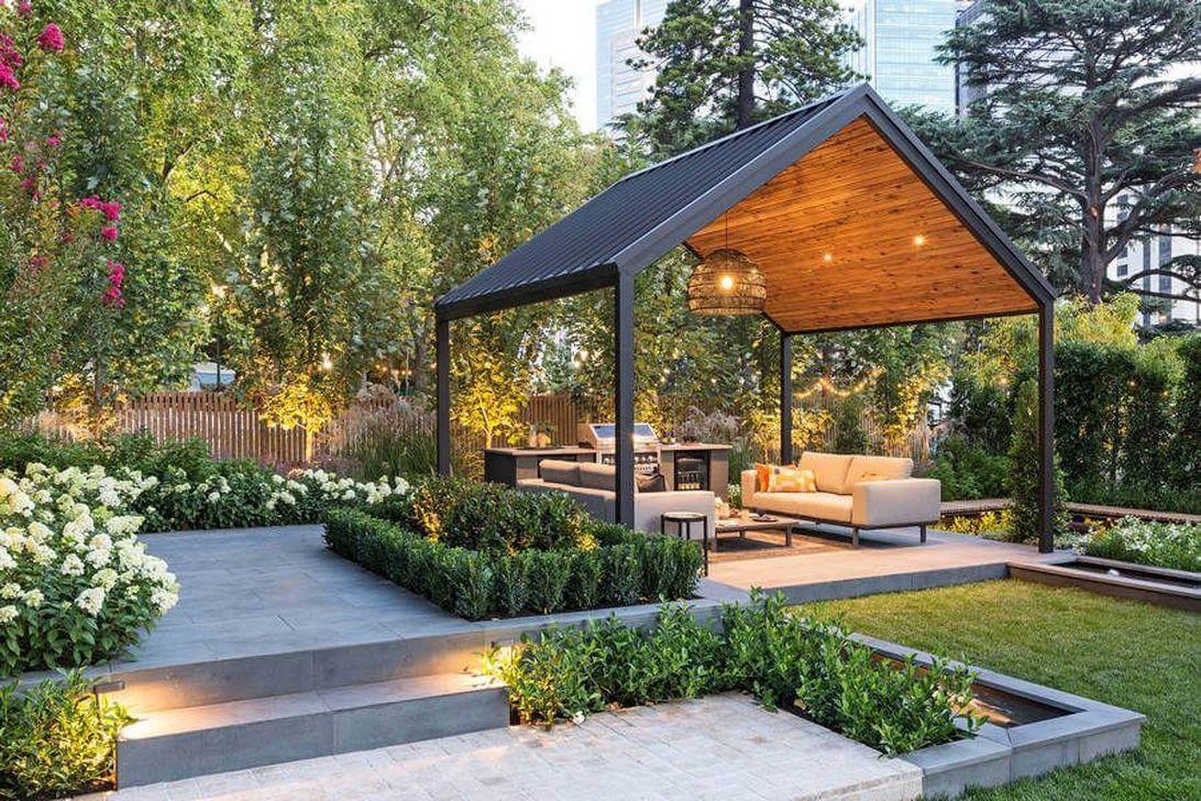 36 Admirable Modern Patio Design Ideas For Your Backyard Trendehouse Modern Gazebo Outdoor Patio Designs Modern Patio Design