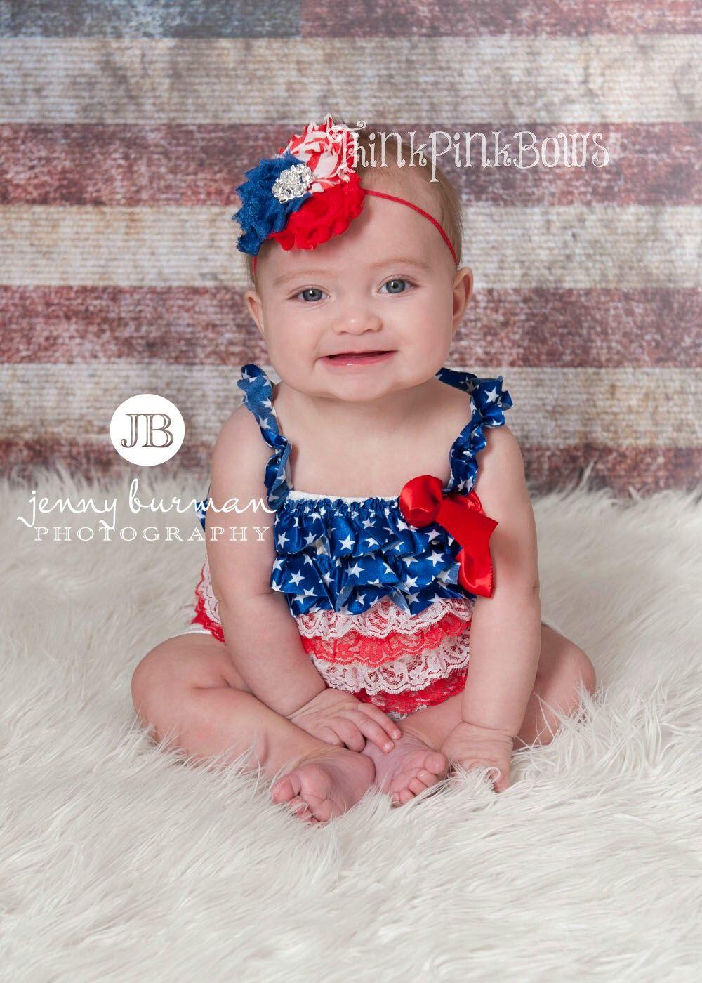 4ec360d81e03 Pin by Vicki Cronk on Baby Pics - Pjs Patriotic