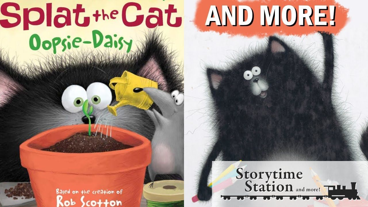 Pin by storytime station more on splat the cat books