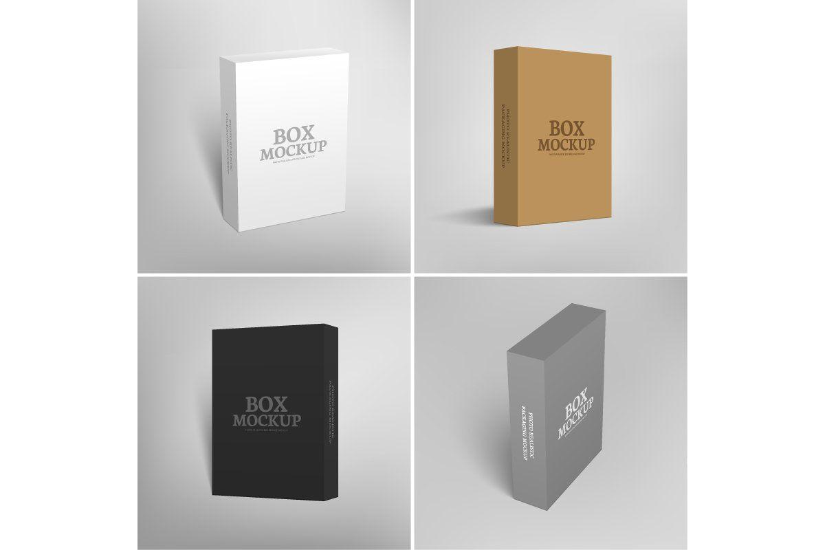 Download Software Packaging Box Mockup Box Mockup Box Packaging Packaging Mockup