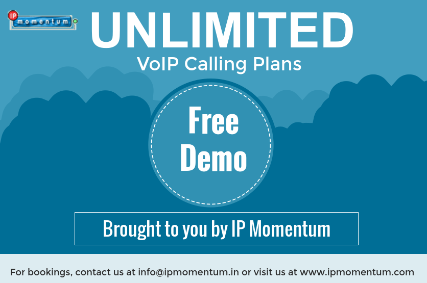 Now IP Momentum offering unlimited VoIP calling plans.try
