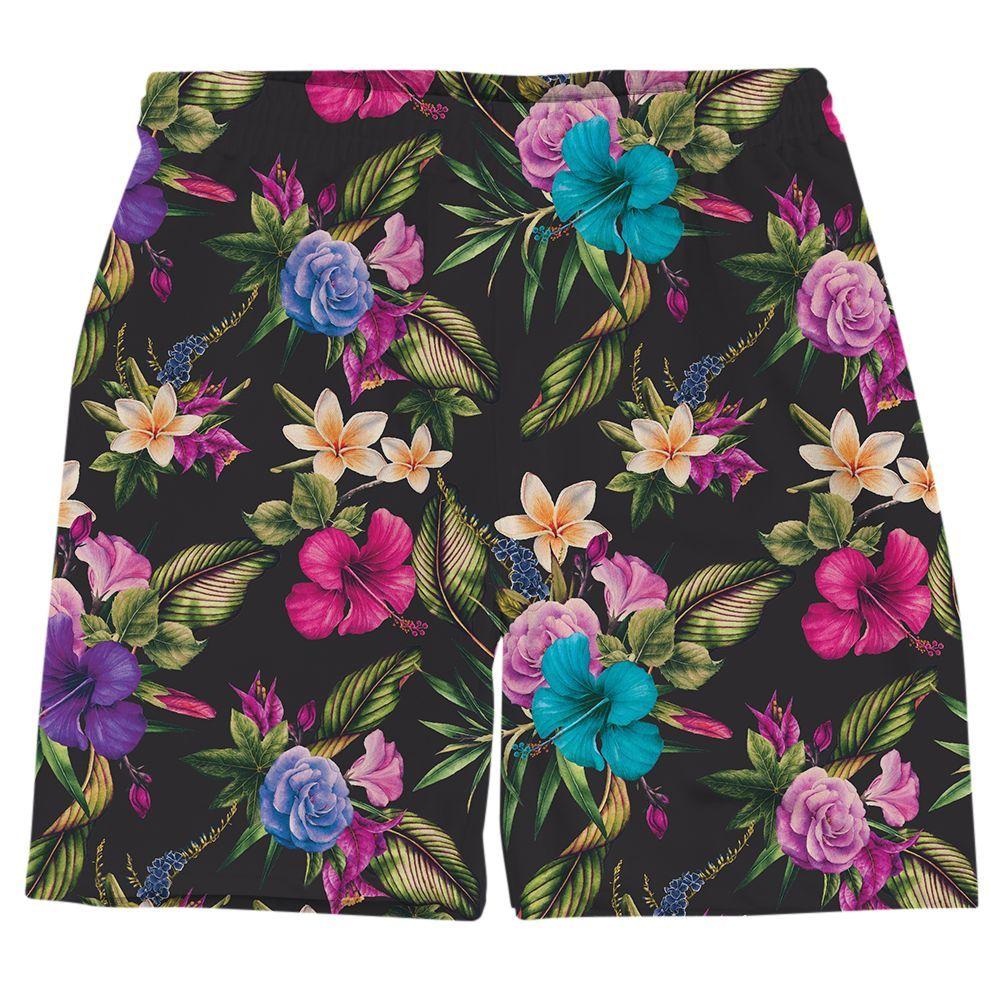 Midnight Jungle Shorts
