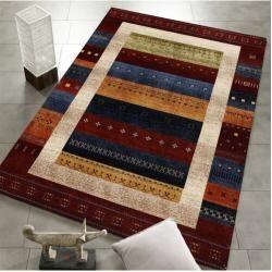 Teppich in Dunkelrot/BeigeWayfair.de #toiletpaperrolldecor