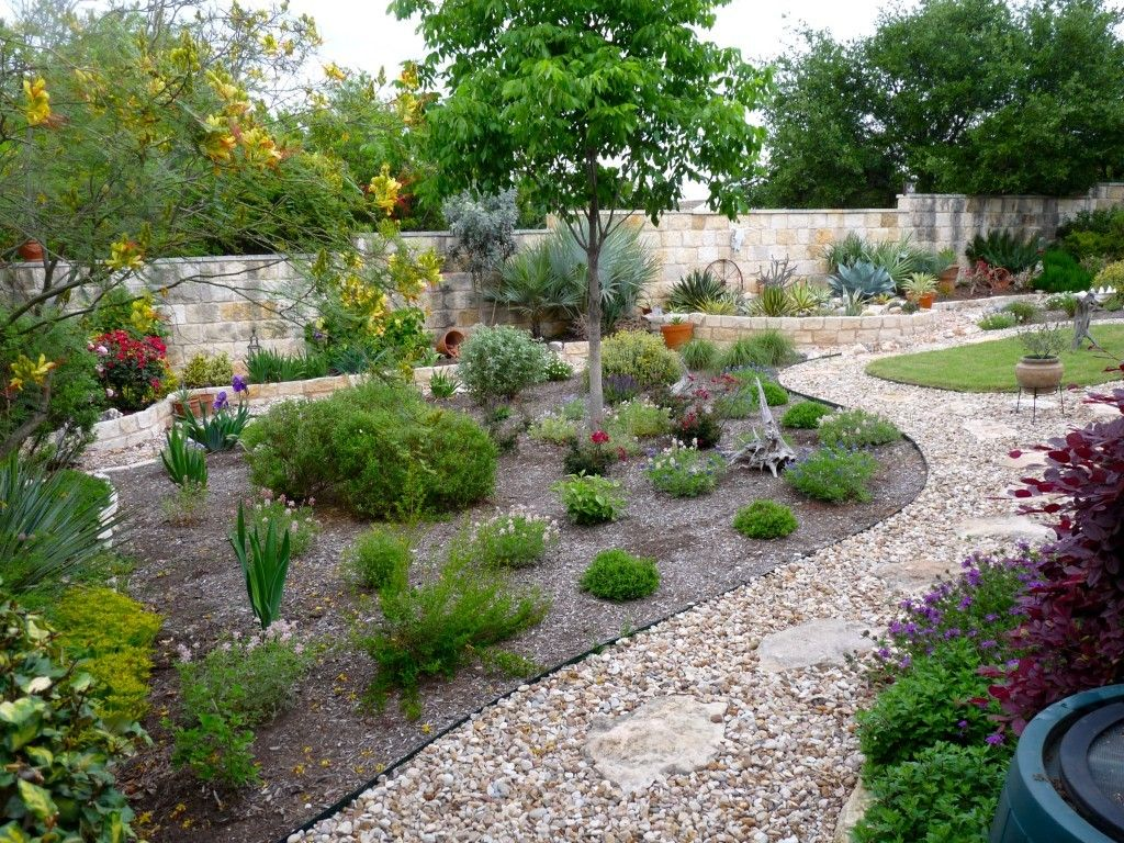Amazing small backyard landscaping ideas no grass images for No grass garden ideas