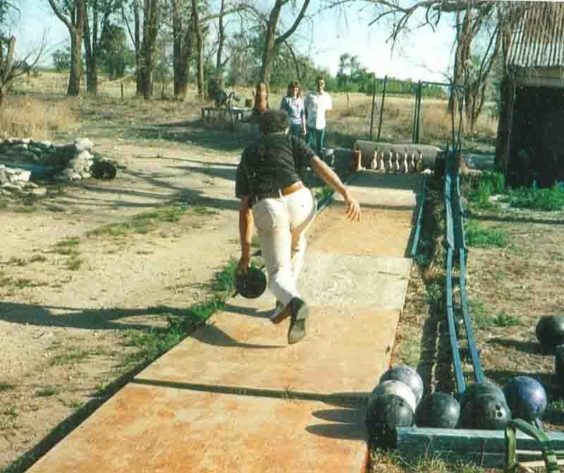 Backyard bowling alley- NORTH AMERICAN BOWLING: Homemade ...