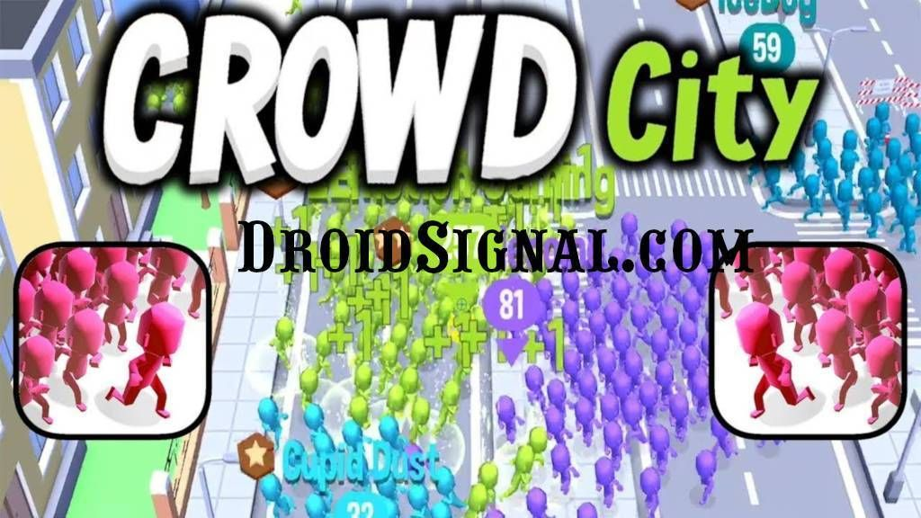 Free Download CrowdCityModApk with Infinite Time and All