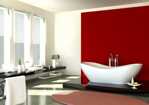 Accent Walls Are Tricky Red