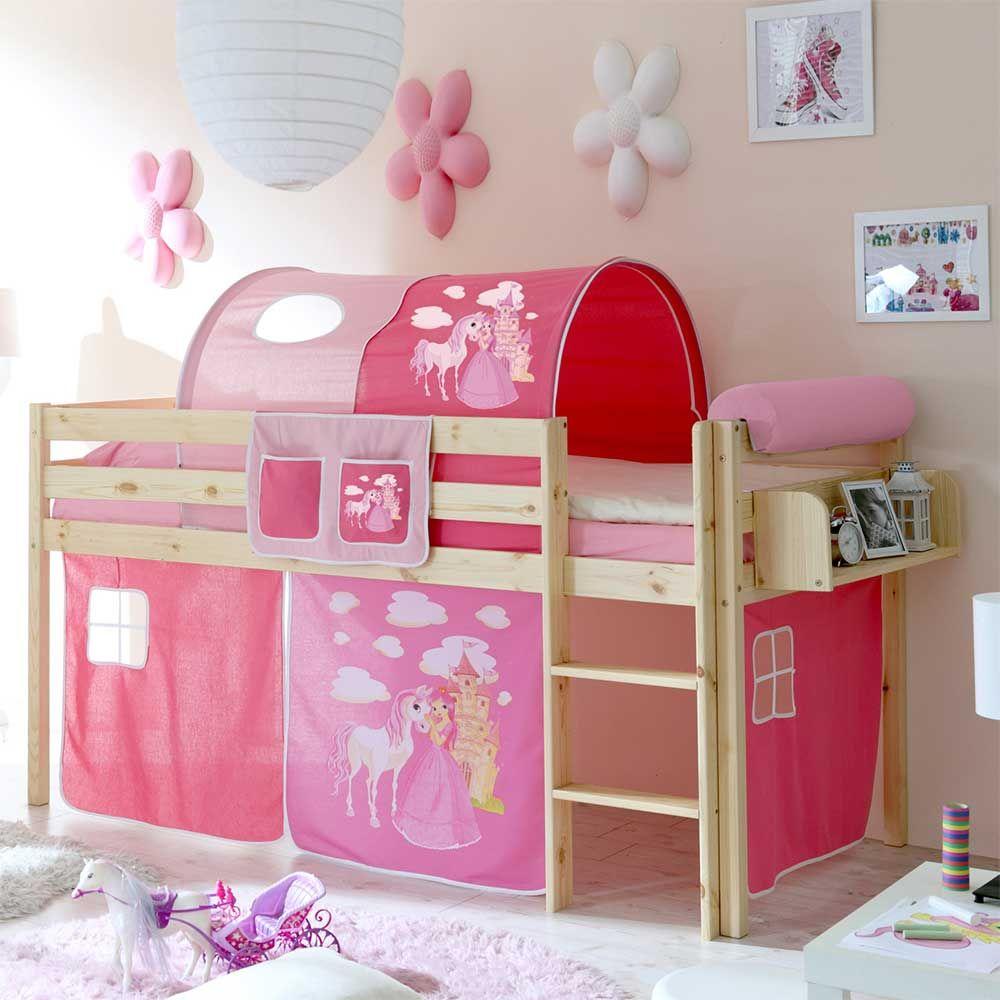 Faszinierend Bett Halbhoch Dekoration Von Mädchenbett Im Prinzessin Design Jetzt Bestellen Unter: