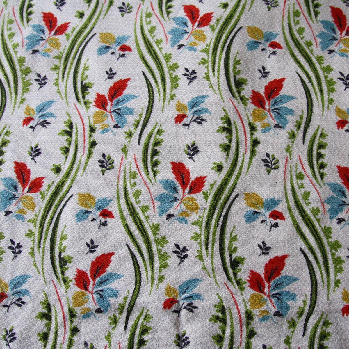 Peggy vintage cotton barkcloth