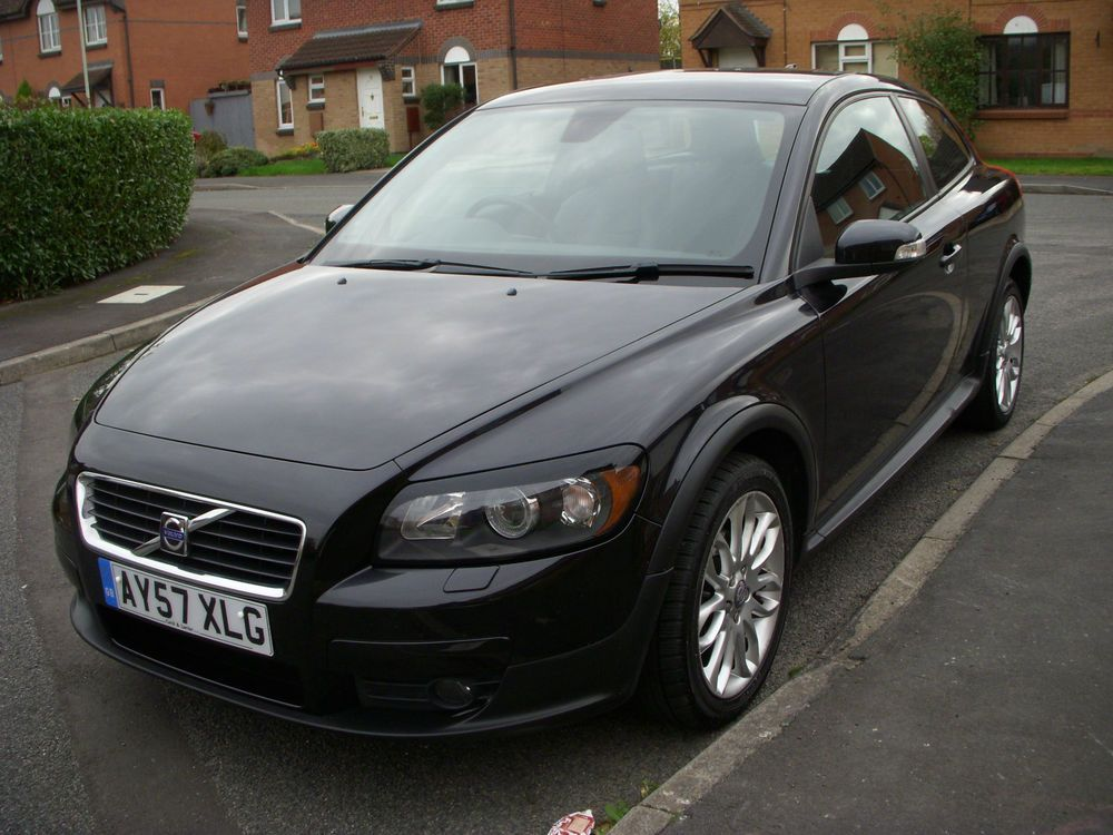 2007 Volvo C30 Se Black Only 73000 Miles With Full Service History