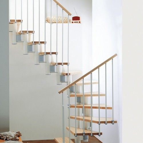 Best Kompact Adjustable Staircase Kit With Images Modular 400 x 300