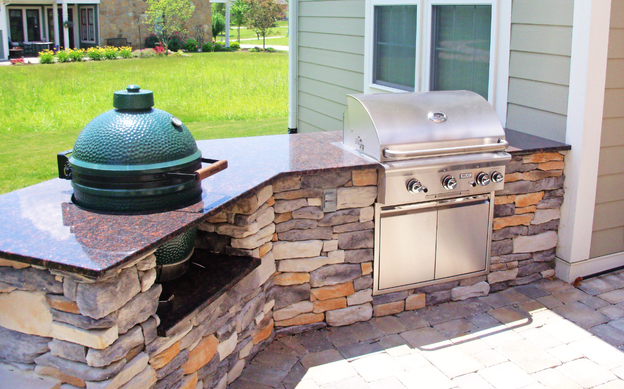 This Weekend Is A Perfect Time To Light Up The Grill Or Smoker And Enjoy The B With Images Outdoor Kitchen Outdoor Kitchen Appliances Outdoor Kitchen Countertops