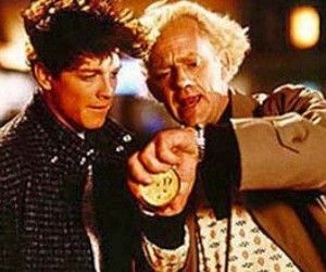 Eric Stoltz Back To The Future After Four Weeks Of Filming Spielberg Decided To Replace Eric Stoltz With Michael J Fox In The Role Of Uber Nerd マーティ