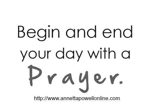 Prayer changes things.  Pray without ceasing.