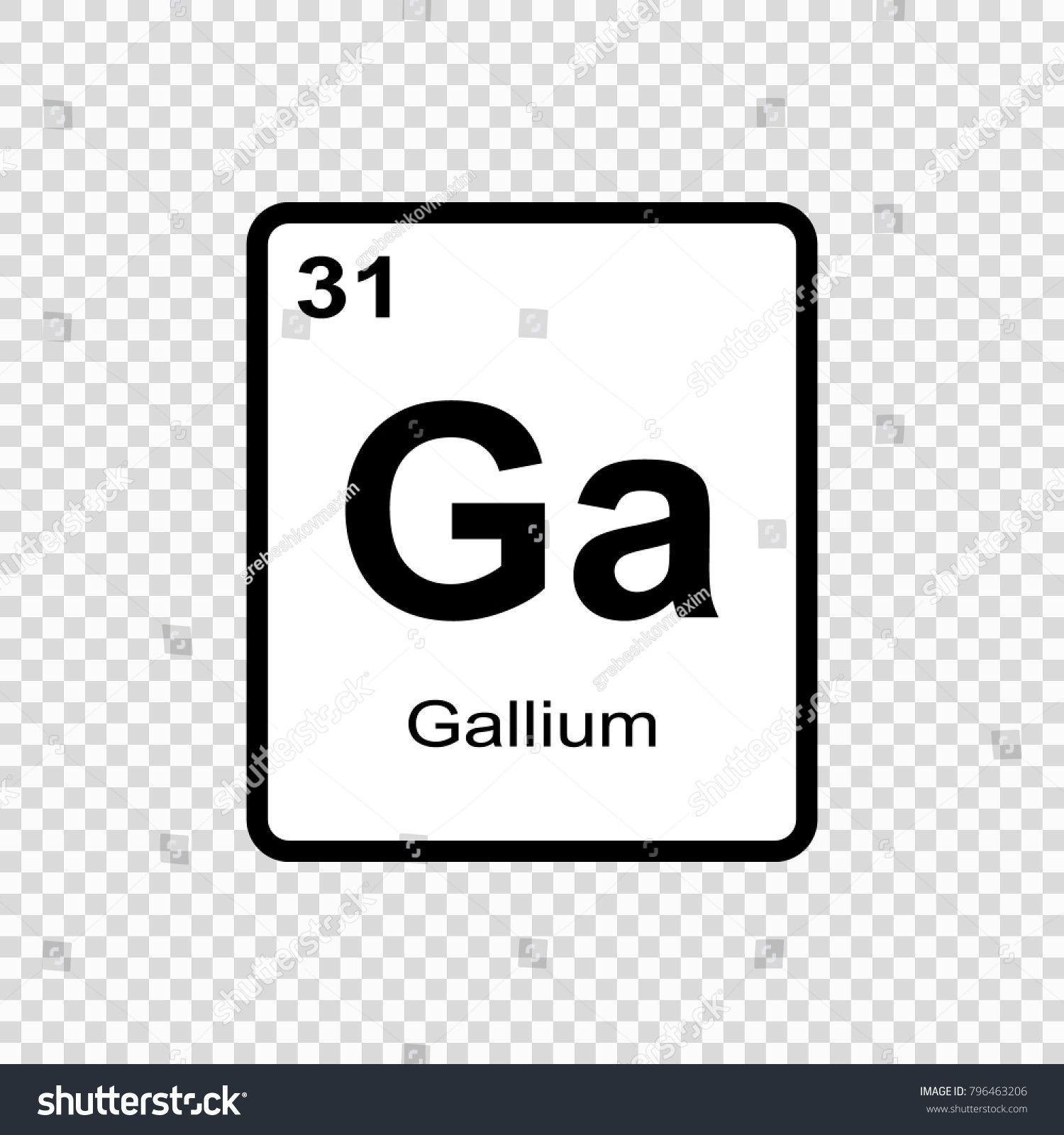 New Periodic Table Gallium Tablepriodic Priodic