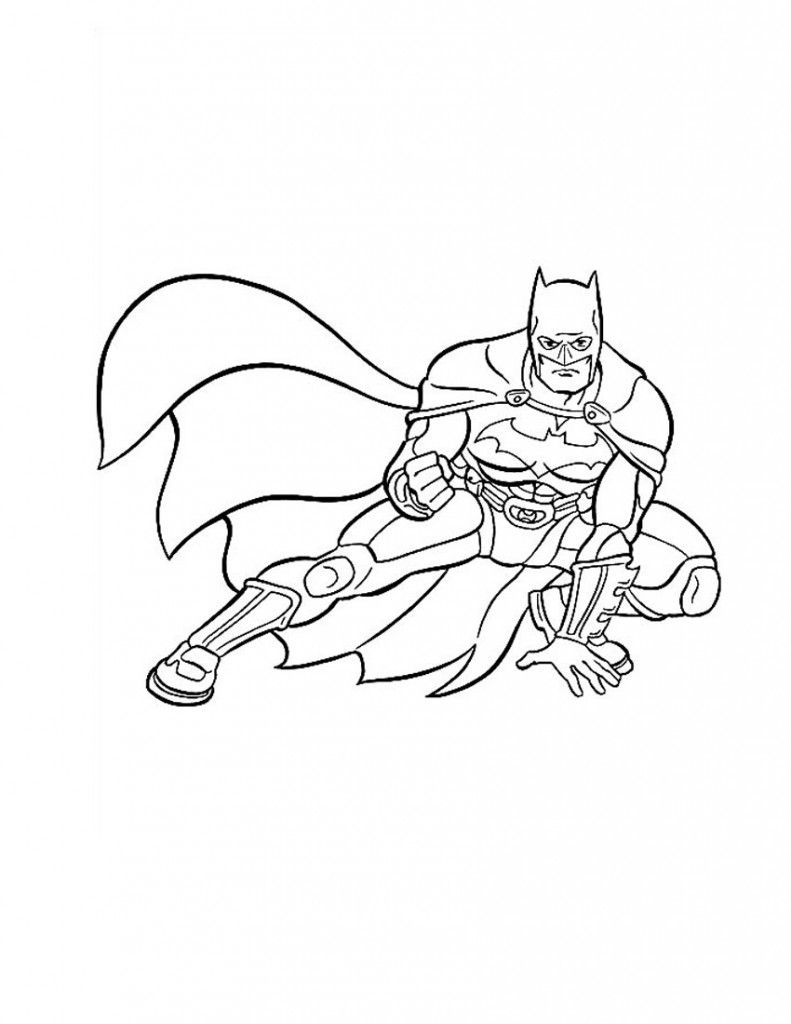 Free Printable Batman Coloring Pages For Kids | Cuadro