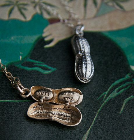 "A reproduction of a WW2-era ""Nuts to You"" Locket, from $120."
