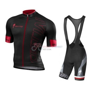 Specialized Cycling Jersey Kit Short Sleeve 2016 Red And Black ...