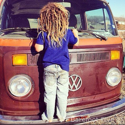 kids with dreads are so cool. I love them