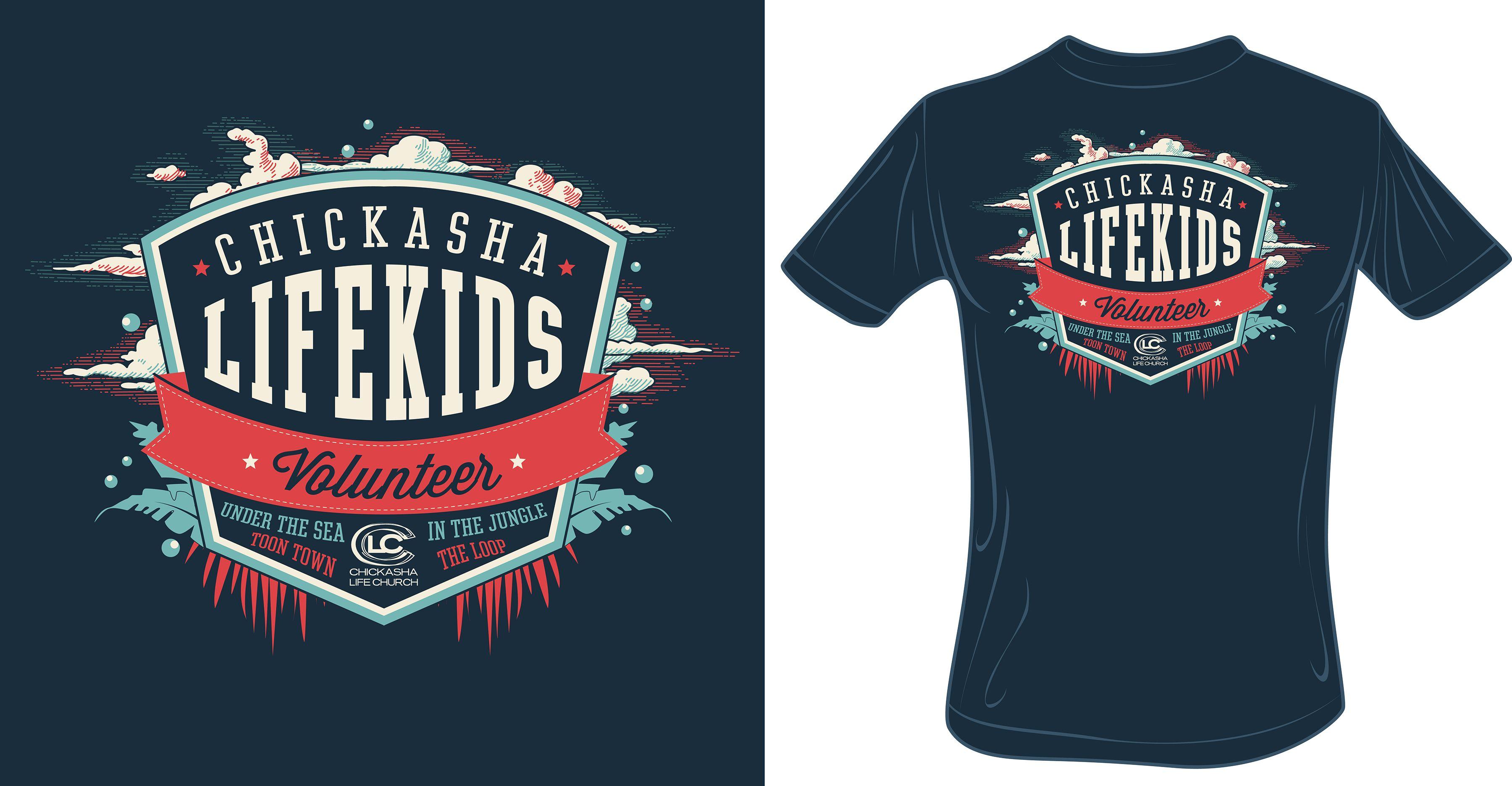 LifeKids Volunteer Tee || LifeKids, LifeChurch, Kids, Volunteer ...