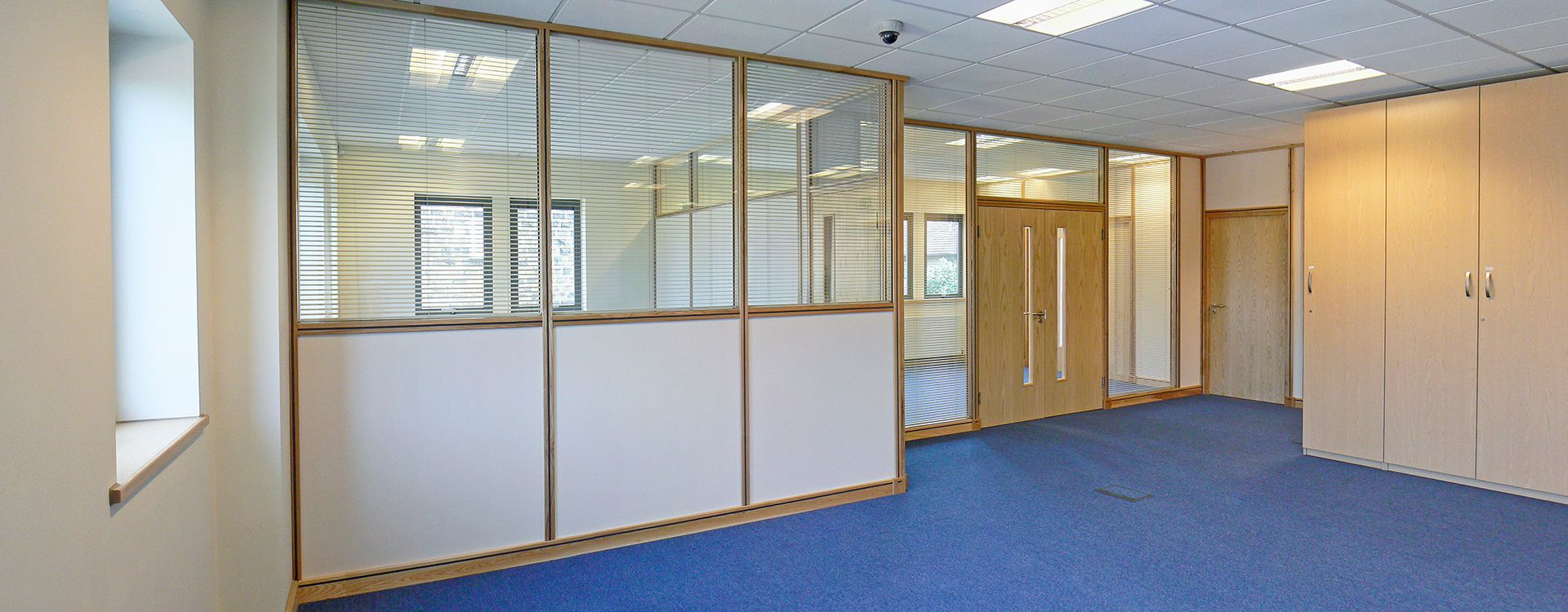 Image Result For Timber Frame Office Partition