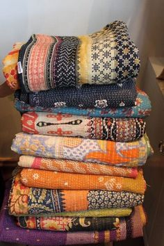 Free Shipping Assorted lot of Vintage Kantha Quilt