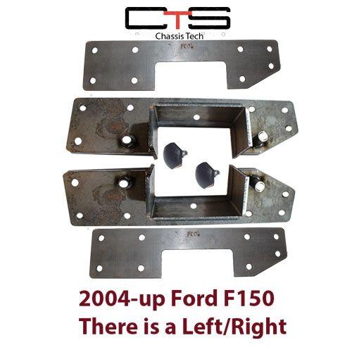 CSE-FO04XX C-Section Frame Notch Ford F150 04Xx 4PC-Notch Bolton ...