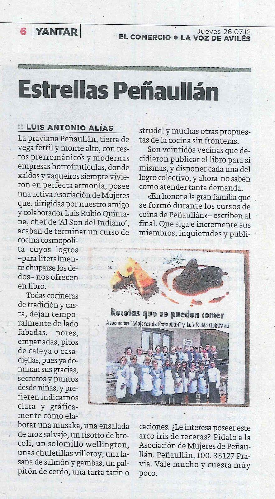 Reportaje Aparecido En El Comercio Dentro De La Sección Yantar Words Word Search Puzzle Event