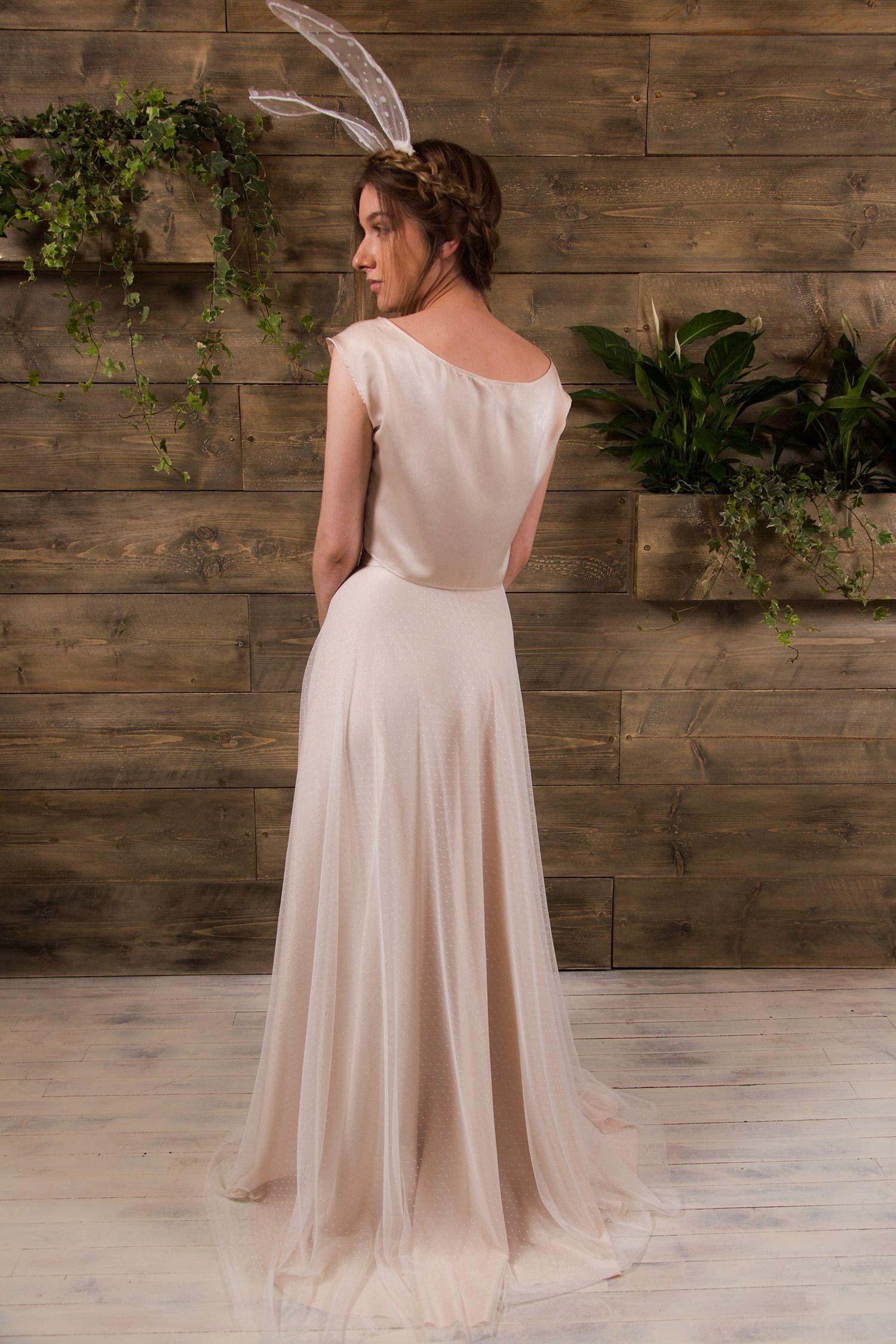 Dress for party wedding  Frankie Bridal seperates  Alternative wedding dresses  Satin