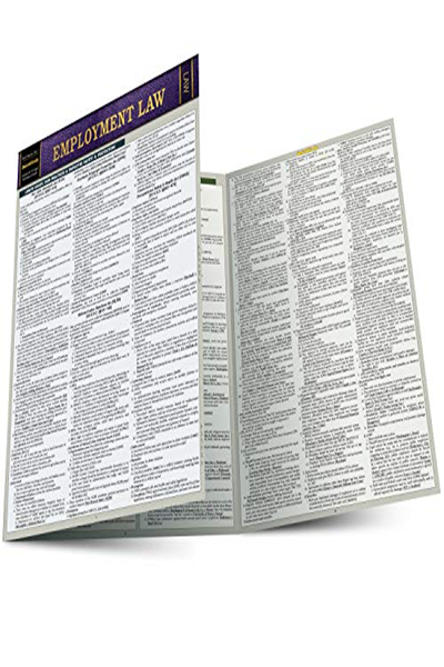 2018 Employment Law A Quickstudy Laminated Law Reference By John