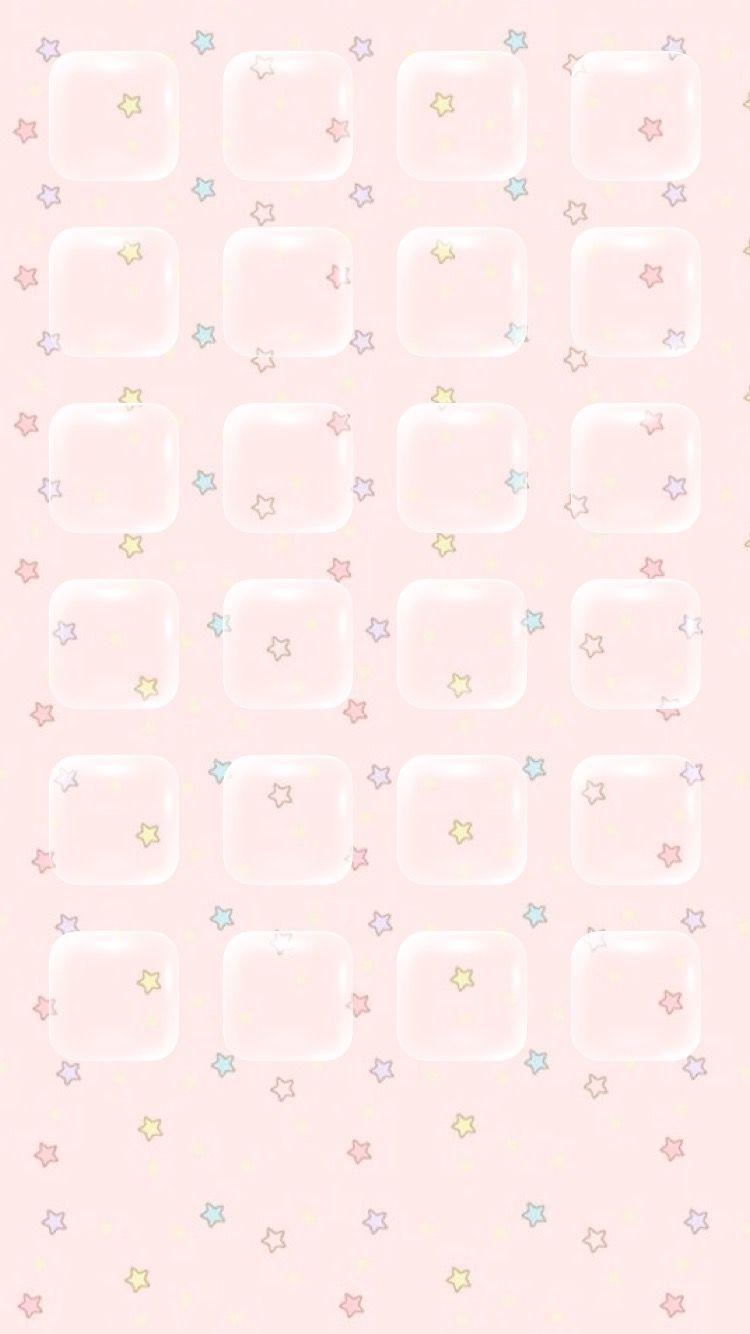 Pastel Sweets And Stars Iphone Wallpaper Wallpaper App Cute Home Screen Wallpaper