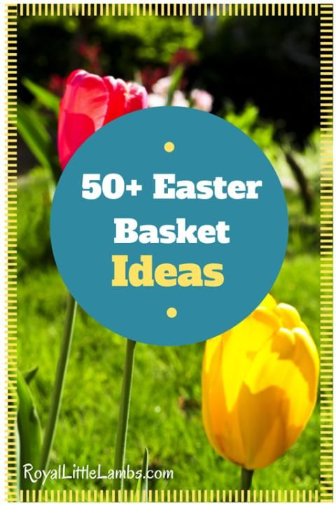 50 easter basket ideas basket ideas easter baskets and easter 50 easter basket ideas other than candy httproyallittlelambs negle Choice Image