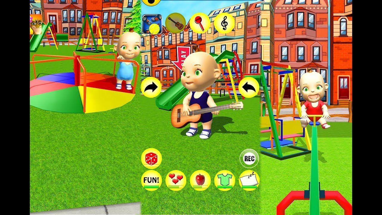 my baby babsy playground fun