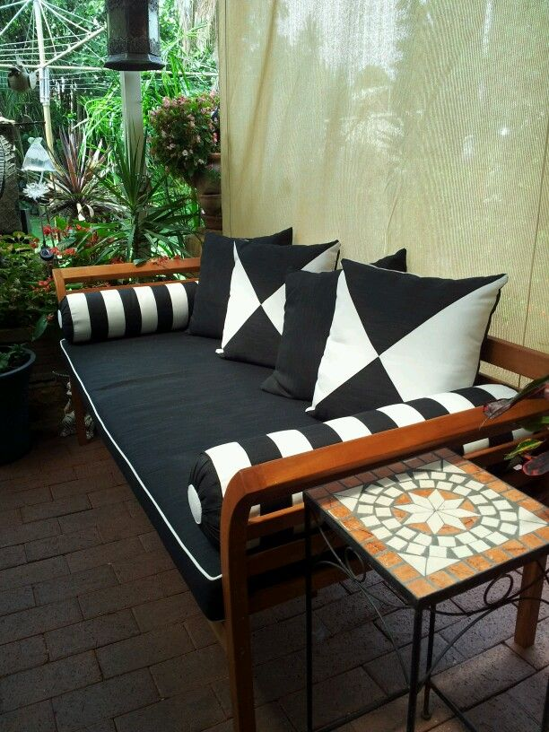daybed | Outdoor living space, Outdoor living, Living spaces on Living Spaces Outdoor Daybed id=51015