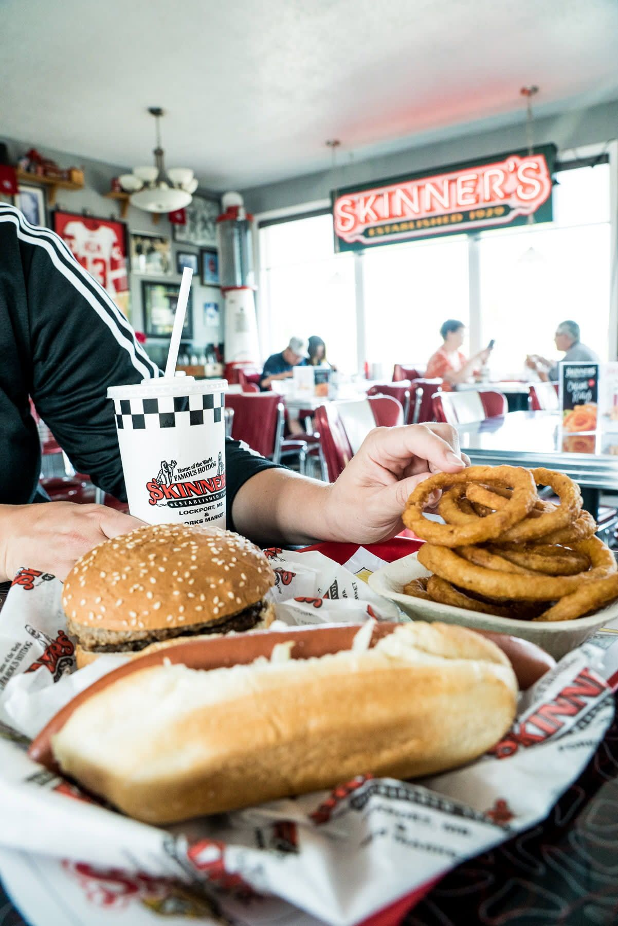 While You Re In Lockport You Ve Got To Stop By Skinner S For A Hot Dog Burger Milkshake Onion Rings Ok Maybe Anything They Canada Food South Beach Day Trip