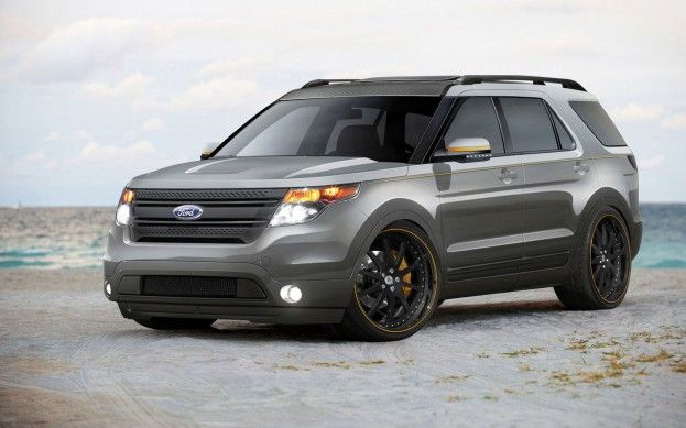 A Glut Of Tricked Out Explorers F Series 2014 Ford Explorer