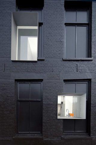 matte black building #black black Pinterest Matte black