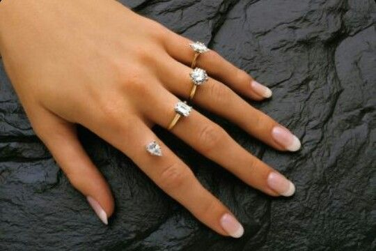 Mmmmmm Maybe A Permanent Engagement Ring