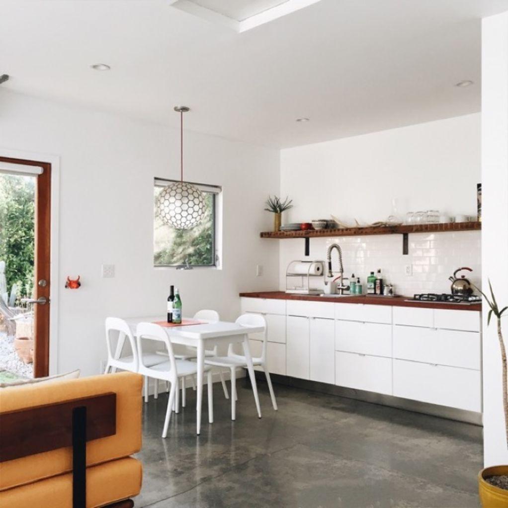 Cottage Kitchen Angeles: Garage Renovation, Garage Remodel