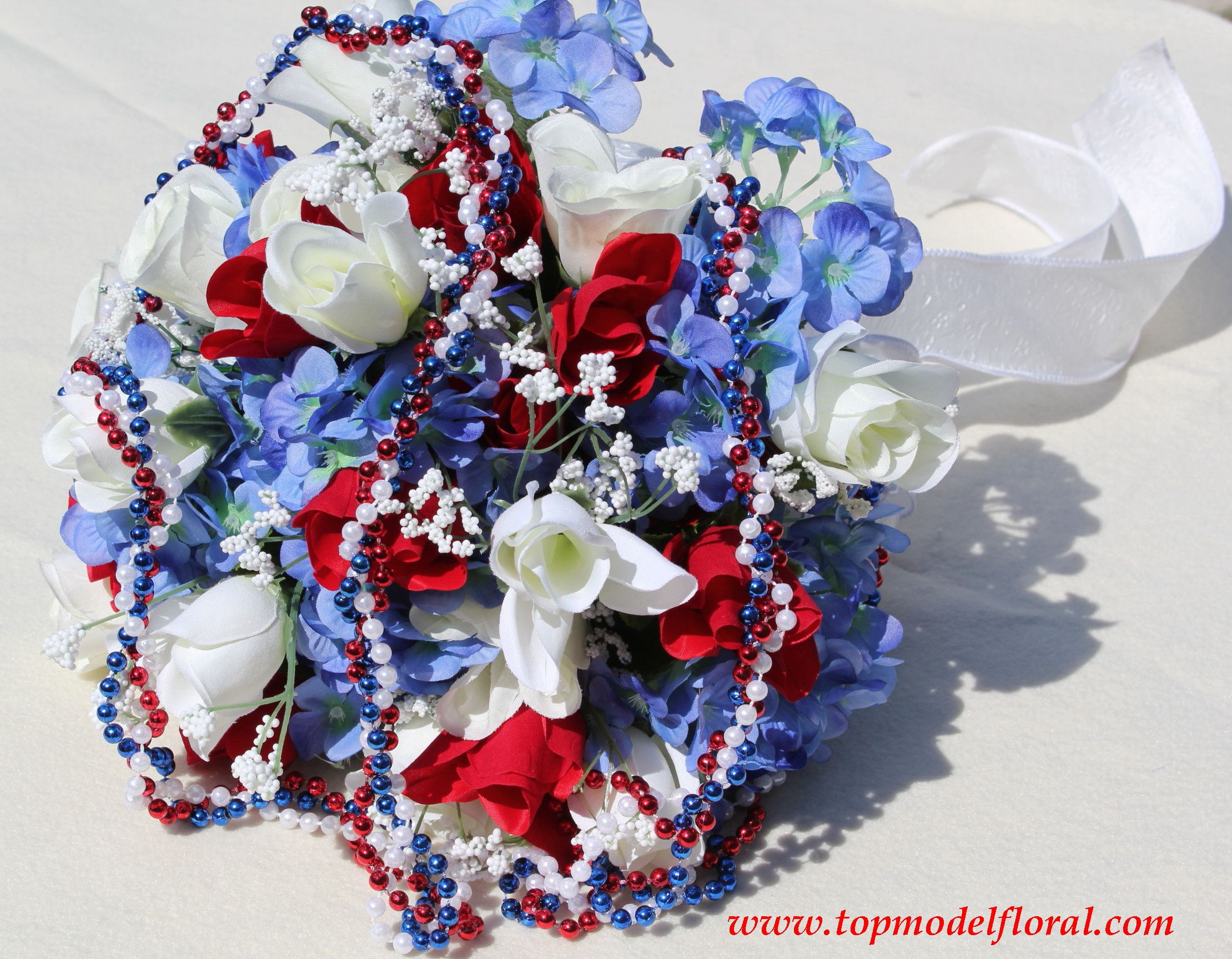 Wedding decorations red  red and blue wedding bouquets  Google Search  Wedding ideas