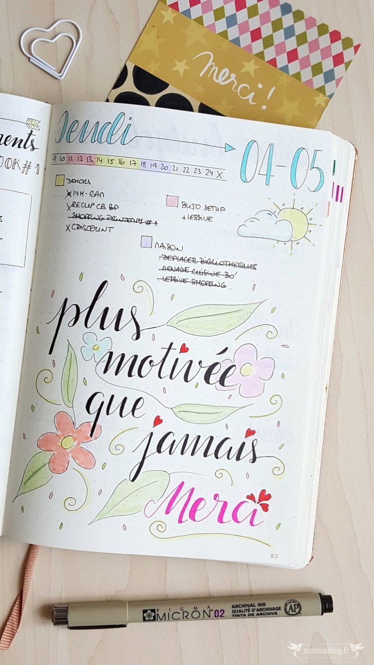 bullet journal daily log lettering divers bullet. Black Bedroom Furniture Sets. Home Design Ideas